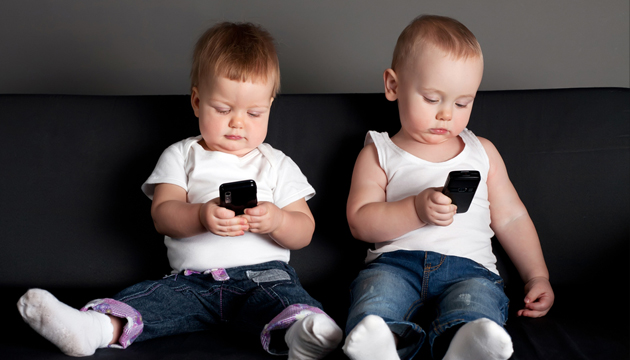 Infants Browsing Mobile Websites